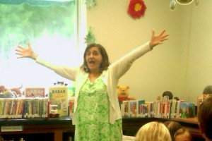 Storytelling at Hickman Library , Calabash, NC