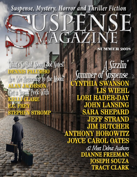 Suspense Magazine May June July 2018 Cover Online